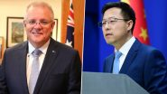Chinese Official Shares Picture Allegedly Showing Australian Soldier Holding Knife to Throat of Afghan Child, Australia PM Scott Morrison Seeks Apology From China