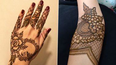 Quick Mehndi Designs for Diwali 2020: Latest Arabic, Pakistani, Indian & Rajasthani Henna Pattern Images & Tutorial Videos That Will Put You in the Festive Mood
