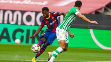 Ansu Fati Injury Update: Barcelona Starlet Out For Four Months After Knee Surgery