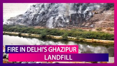 Fire In Delhi's Ghazipur Landfill Causes Air Quality To Dip Into Severe Category, Adds To The Existing Pollution Woes