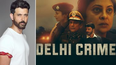 International Emmys 2020: Hrithik Roshan Congratulates the Team of Delhi Crime on the Big Win