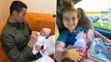 Cristiano Ronaldo, Georgina Rodriguez Wish Daughter Alana Martina on Third Birthday (See Posts)