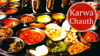 Karwa Chauth 2020 Dinner Recipes: From Post-Fast Karva Chauth Special Thali to Sweet Rabri, Dishes to Prepare for the Feast After the Moonsighting
