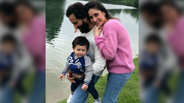 Tired of the Paps, Taimur Ali Khan Shouts 'No Photos' As He Takes a Stroll With Kareena Kapoor Khan and Saif Ali Khan (Watch Video)