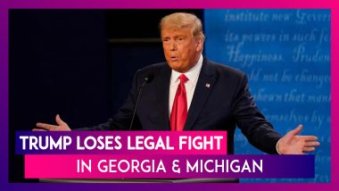 Donald Trump Accuses Democrats Of Trying To 'Steal' US Election As The US President Loses Legal Fight In Georgia & Michigan & Joe Biden Inches Closer To Win