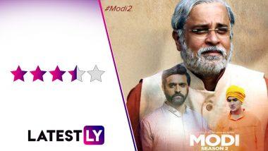 MODI Season 2 – CM TO PM Review: Umesh Shukla's Eros Now Series Showcases the Captivating Persona of Namo, Mahesh Thakur's Screen Presence Steals the Show