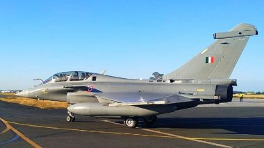 Second Batch of Rafale Jets to Arrive in India by Evening; Here's When And Where to Watch Live Coverage of French Fighter Jets Arriving at Jamnagar Airbase