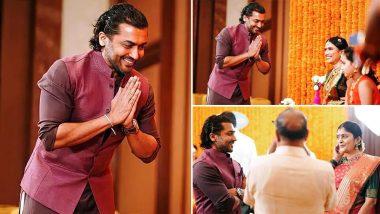 Suriya's Photos From Soorarai Pottru Director Sudha Kongara's Daughter's Wedding Go Viral! Fans Impressed With His New Look