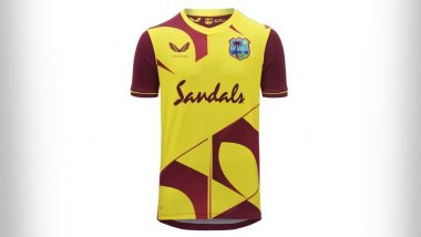 West Indies Unveils New Jersey for T20I Series Against New Zealand As Countdown Begins for ICC Men's T20 World Cup 2021