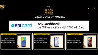 Flipkart Black Friday Sale 2020: Live Offers & Discounts on Realme 7i, iPhone SE, Pixel 4a, Galaxy S20+ & More