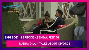 Bigg Boss 14 Episode 42 Sneak Peek 01 | 30 Nov 2020: Rubina Dilaik Talks About Divorce With Abhinav