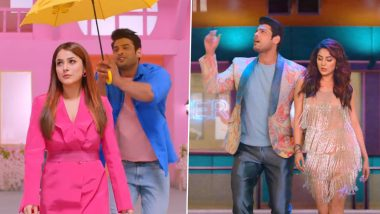 Shona Shona Song: Sidharth Shukla and Shehnaaz Gill's Cute Chemistry is the Highlight of this Song (Watch Video)
