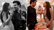 Kajal Aggarwal Shares Unseen Wedding Pictures with Hubby to Celebrate One Month Anniversary