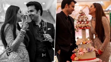 Kajal Shares Unseen Wedding Pictures with Hubby to Celebrate One Month Anniversary