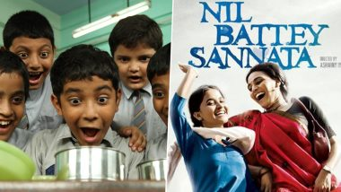 Children's Day 2020: From Nil Battey Sannata to Stanley Ka Dabba, 5 Inspirational Movies Kids Will Absolutely Love to Watch