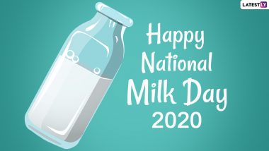 National Milk Day 2020 Images & HD Wallpapers for Free Download Online: Celebrate Verghese Kurien's Birth Anniversary With WhatsApp Messages and Photos