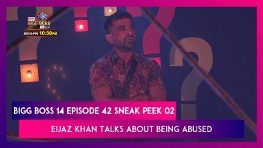 Bigg Boss 14 Episode 42 Sneak Peek 02 | 30 Nov 2020: Eijaz Khan Talks About Being Abused As A Kid