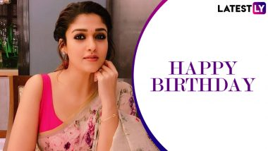 Nayanthara Birthday: Here Are Some Lesser Known Facts About the Lady Superstar of the South Film Industry
