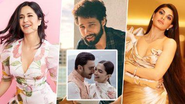 Happy Anniversary Deepika Padukone and Ranveer Singh! Katrina Kaif, Jacqueline Fernandez, Siddhanth Chaturvedi Shower Love on the Couple
