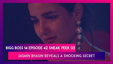 Bigg Boss 14 Episode 42 Sneak Peek 03 | 30 Nov 2020: Jasmin Bhasin Reveals A Shocking Secret