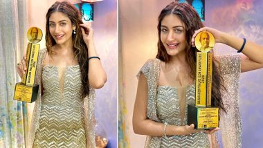 Naagin 5 Actress Surbhi Chandna Bags The Dadasaheb Phalke Icon Award Films 2020 For Best Actress