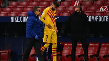 Gerard Pique Injury Update: Barcelona Defender Set For Sidelines With Calf Issue
