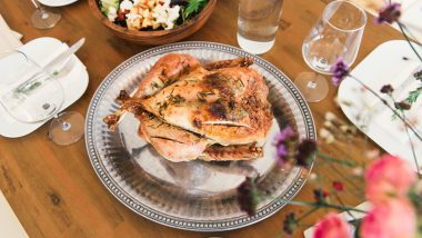 Thanksgiving 2020 Turkey Recipes: From Roasted Butter Herb Turkey to Spice-Rubbed Turkey, 5 Meat Recipes for a Bon Appétit Thanksgiving Dinner (Watch Videos)