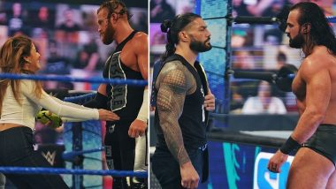 WWE SmackDown Nov 13, 2020 Results and Highlights: Drew McIntyre Confronts Roman Reigns; Buddy Murphy Helps Rey Mysterio Defeat Seth Rollins in No Holds Barred Match (View Pics)