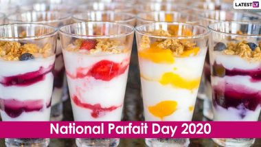 National Parfait Day 2020 in US: From Lemon-Honey Parfaits to Yogurt Banana Sundae, 5 Healthy Recipes of This Delicious Frozen Dessert That One Can Eat Guilt-Free (Watch Videos)