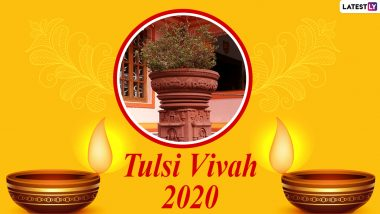 Tulsi Vivah 2020 Images & Dev Uthani Gyaras Wishes For Free Download Online: Celebrate Hindu Festival With WhatsApp Messages and Greetings