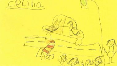 German Police in Search of Hit-and-Run Driver With Help of Suspect's Sketches Made by 6-Year-Old Witnesses (See PIctures)