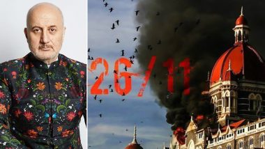 12 Years of 26/11 Terrorist Attack: Anupam Kher Pays Tribute to the Martyrs and Victims of Mumbai Terror Attack (View Post)