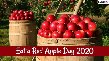 Eat a Red Apple Day 2020: From Strong Immune to Weight Loss, Here Are 5 Reasons to Have This Nutritious Fruit Daily
