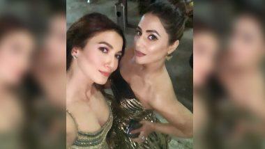 Bigg Boss 14 Senior Gauahar Khan Shares Throwback Selfie with Hina Khan (See Pic)