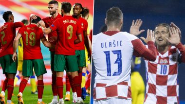 Croatia vs Portugal Head-to-Head Record: Ahead of UEFA Nations League 2020–21 Clash, Here Are Match Results of Last Five CRO vs POR Football Matches