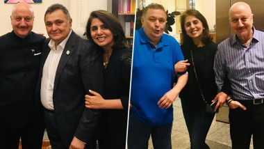 Anupam Kher Goes Down Memory Lane to Share Throwback Pics with Rishi Kapoor, Actor Gets Emotional Meeting Neetu Kapoor Recently