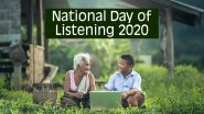 National Day of Listening 2020 Date, History and Significance: Here's All About the Day After Thanksgiving That Encourages to Record Stories of Our Closed Ones