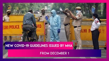 New Coronavirus Guidelines Issued By MHA From December 1 As Cases Surge: Night Curfews, 'Covid-Appropriate Behaviour' In New Rules For States