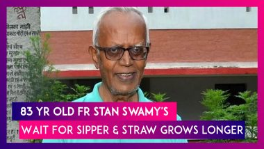 Stan Swamy, 83-Year-Old Priest With Parkinson Still Waits For Sipper& Straw As NIA Tells Court Its Doesn't Have Them