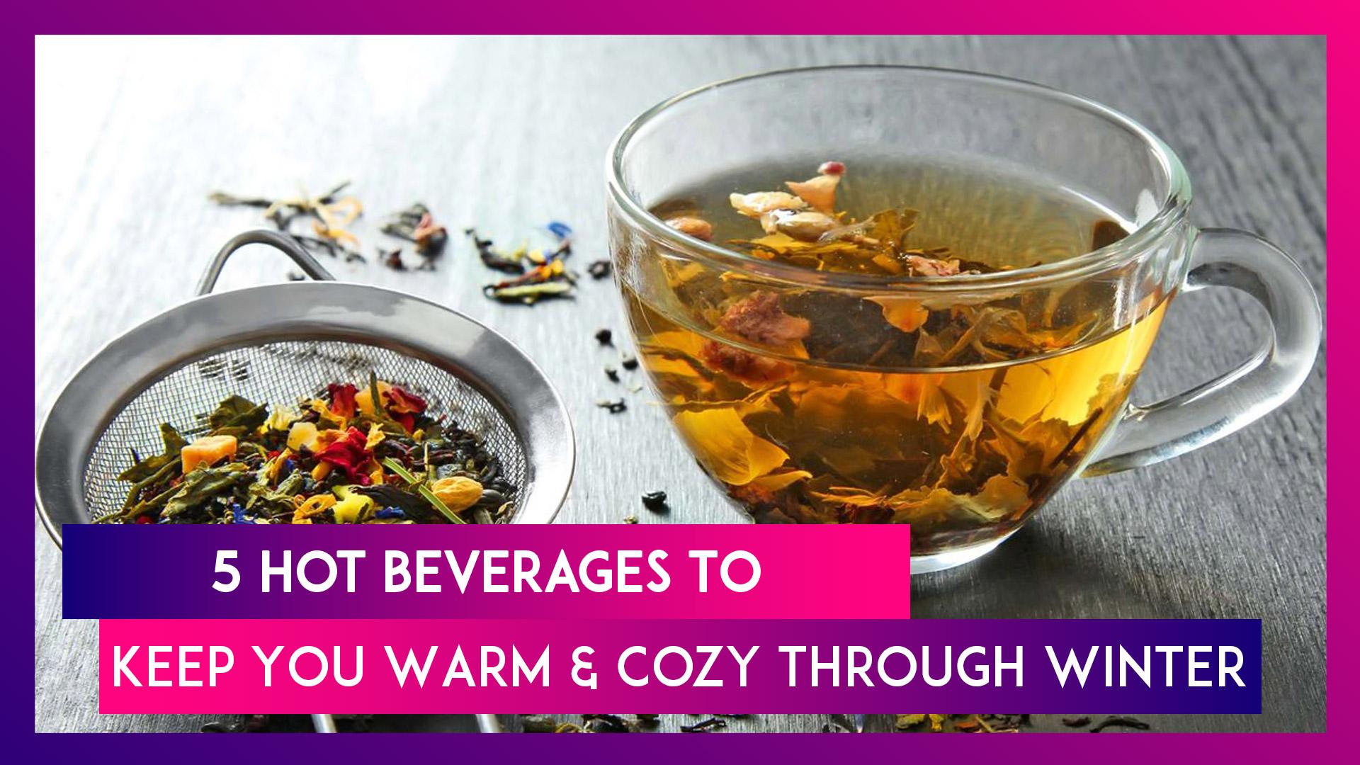 Turmeric Milk, Herbal Tea and More: 5 Healthy Drinks For Winter
