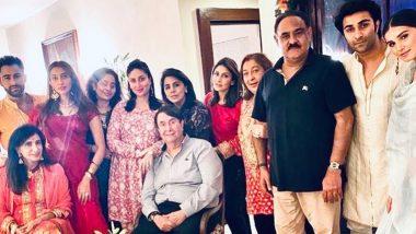 Kareena Kapoor Khan, Tara Sutaria, Aadar Jain, Riddhima Kapoor Sahni And Others Get Together For Karwa Chauth 2020 Celebrations!
