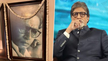 Harivansh Rai Bachchan 113th Birth Anniversary: Amitabh Bachchan Pays Tribute to Late Father (Read Tweet)
