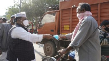 AAP MLAs and Councillors Organise Free Mask Distribution and Awareness Campaign Across Delhi