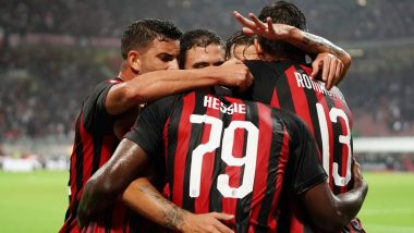 AC Milan vs Fiorentina Live Streaming Online & Match Time in IST: How to Get Free Live Telecast of Serie A 2020–21 on TV & Football Score Updates in India?