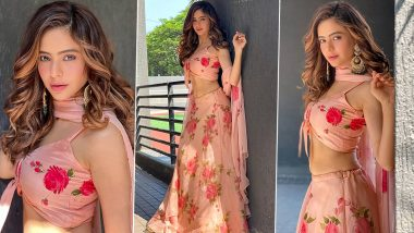 Aamna Sharif Is Desi Chic in a Rosy Pink Handpainted Lehenga Worth Rs 32,000!