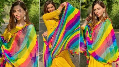Aamna Sharif Is Having a Good Day and Beaming Like Sunshine and Rainbows!