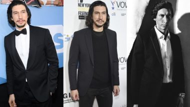 Adam Driver Birthday Special: Signature Classic Suits Are a Staple in This Star Wars Actor's Red Carpet Wardrobe (View Pics)