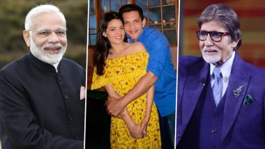 Aditya Narayan and Shweta Agarwal's Wedding Reception To Be Held on December 2; Guestlist Includes Names like PM Narendra Modi and Amitabh Bachchan!