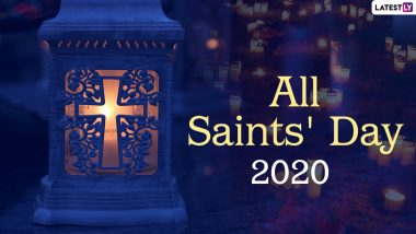 All Saints' Day 2020 HD Images, Greetings & Wallpapers: Celebrate All Hallows' Day with Pics, Wishes, GIFs and Quotes With Your Loved Ones