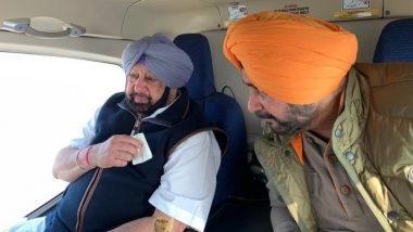 Congress Leader Navjot Singh Sidhu Has Lunch with CM Amarinder Singh, May Be Re-Inducted into Punjab Cabinet